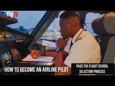How to Become an Airline Pilot 2 - Pass the Pilot School SELECTION PROCESS & APTITUDE TESTS | ATPL