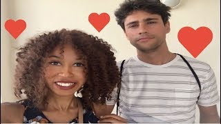 Meet the boyfriend | Interracial couple tag | Girlfriend tag | team swirl
