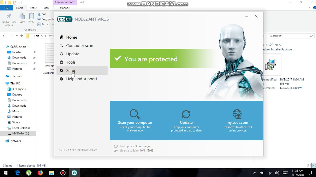 nod32 antivirus free download 64 bit
