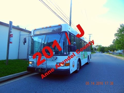 Route 201/J (RTA of Central Maryland) -- FULL RIDE!