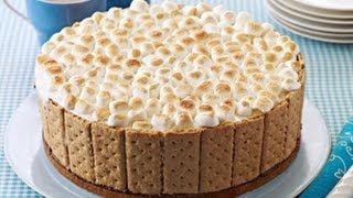 Smores Ice Cream Cake Recipe