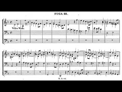 Mendelssohn - Prelude and Fugue in D minor, Op. 37