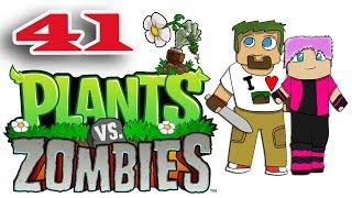ч.41 Растения против Зомби с кошкой - Прыг вечеринка