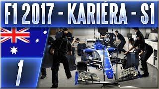 F1 2017 - Kariéra - S1 | #1 | Vzhůru do Práce! (AUS) | CZ Let's Play