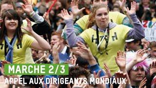 Oxfam-Québec  Flashmob Marche 2/3 2010  Montréal (Parc La Fontaine)