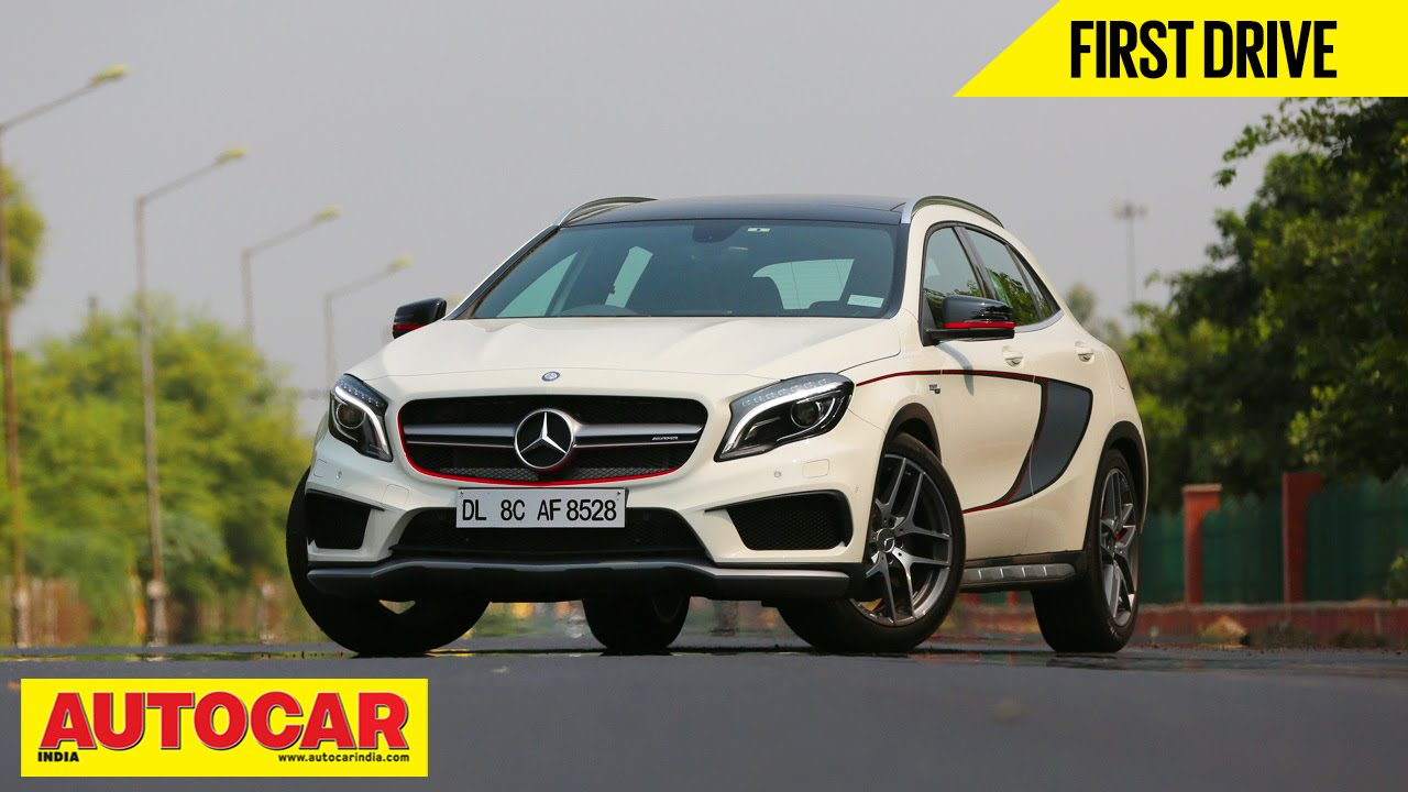 Mercedes benz gla 45 amg first drive video review for Mercedes benz gla india
