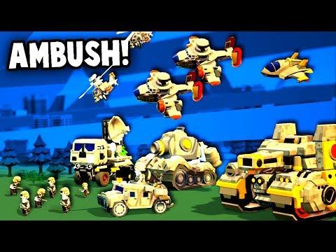 AMBUSH!  NEW Advance Wars Game!  (Tiny Metal Release Gameplay Part 1)