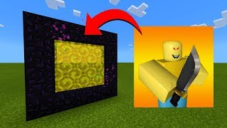 How To Make A Portal To The Roblox.exe Dimension in Minecraft!