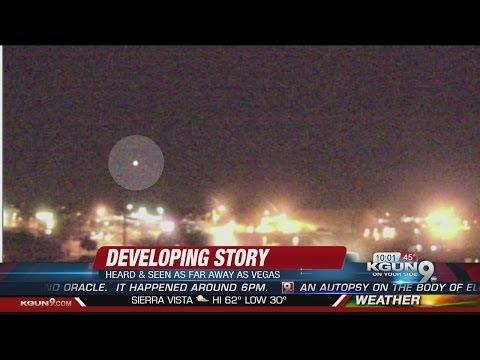 Loud boom heard, lights seen across Arizona