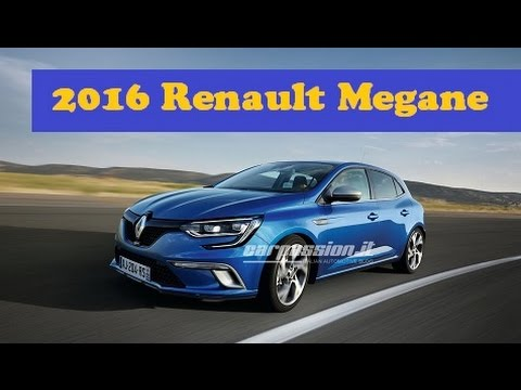 Awesome AllNew 2016 Renault Megane Officially Revealed World