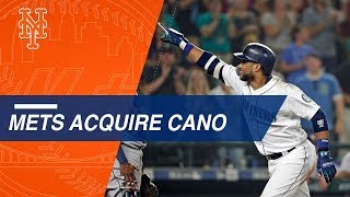 Robinson Cano is going back to New York after trade to Mets