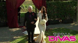 Eva Marie walks down the aisle: Total Divas, Oct. 26, 2014