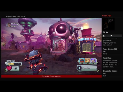 Plants vs Zombies GW2! Here comes Sparta  Subscriber goal 395--›400! Come Watc