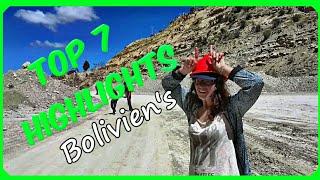 Unsere 7 schönsten SEHENSWÜRDIGKEITEN in BOLIVIEN / TOP 7 THINGS TO DO IN BOLIVIA