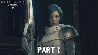 DESTINY 2 Warmind DLC Walkthrough Part 1 - Ice and Shadow [PS4 Pro]