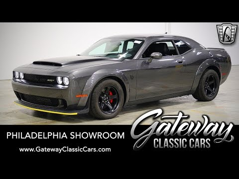 2018 Dodge Demon, Gateway Classic Cars - Philadelphia #662