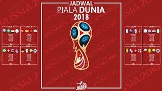 Download Video WAJIB DICATAT!!! Jadwal Lengkap Piala Dunia Rusia 2018 MP3 3GP MP4