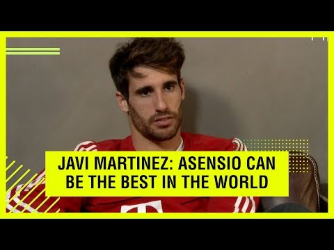 BAYERN'S JAVI MARTINEZ TALKS ASENSIO AND SPAIN