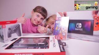 [SWITCH] Unboxing de la console Nintendo Switch et accessoires - Studio Bubble Tea Gaming