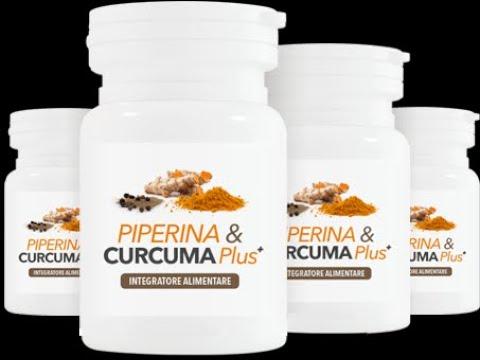 Piperina e Curcuma Integratore Dimagrante Stimolazione Metaolismo Rapido Dimagrimento