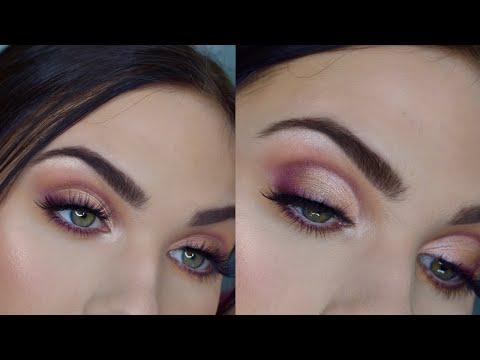 Spring Glam Makeup Look   My Favorite Makeup Geek Eyeshadows thumbnail