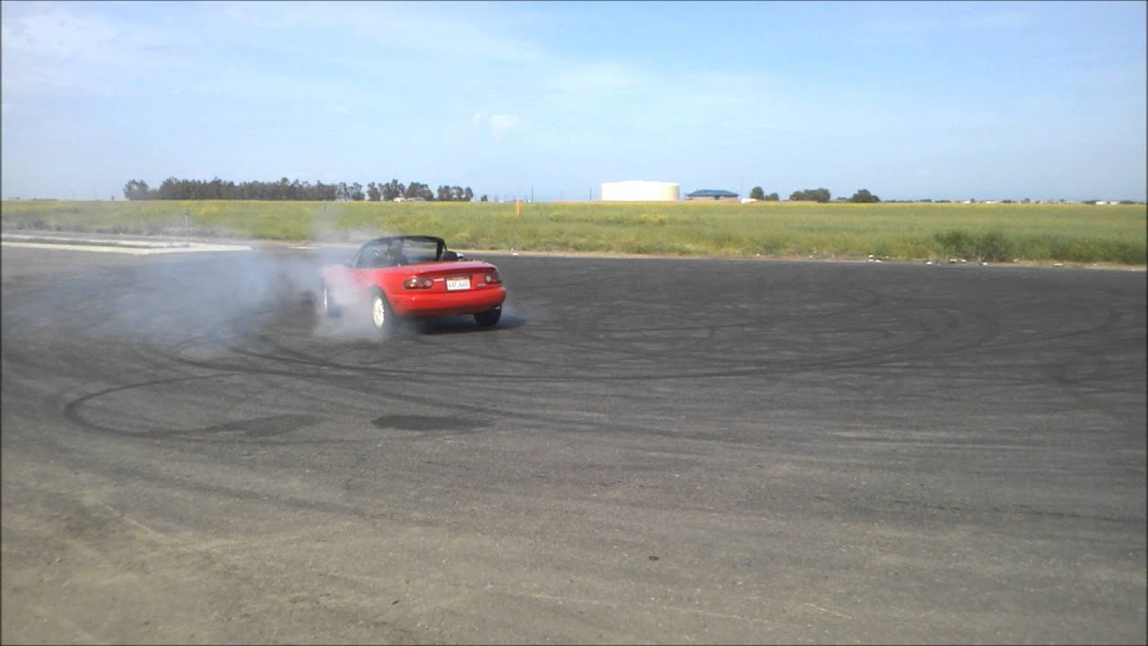 Amateur Open Diff Drift 1990 Mazda Miata
