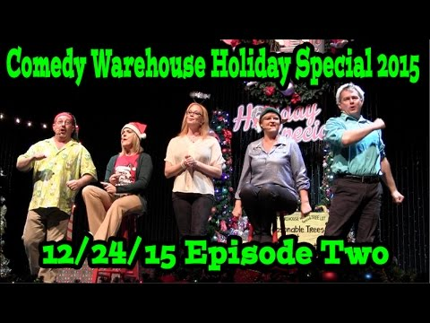 Comedy Warehouse Holiday Special 2015 At Disney's Hollywood Studios Episode Two