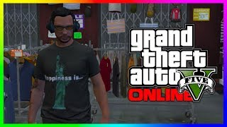 GTA 5 RARE Clothing, Hats & More! GTA 5 Beer Hats & Statue of Happiness Shirts! (GTA V)