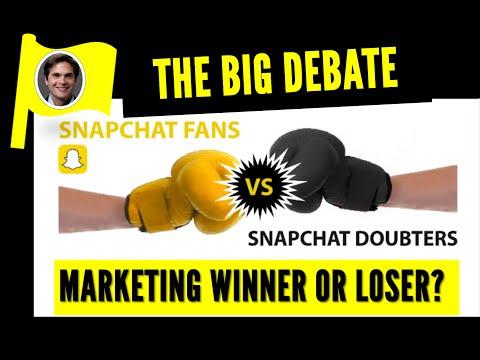 The Big SnapChat Debate - Marketing Winner or Loser?