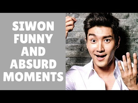 SUPER JUNIOR 슈퍼주니어 SIWON Funny And Absurd Moments
