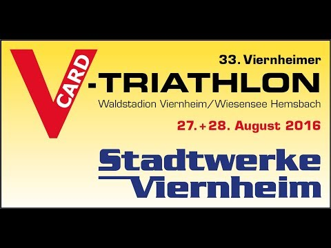 34. V-Card-Triathlon Viernheim - 27.08.2017