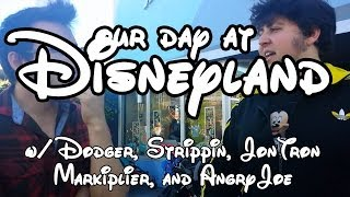 OUR DAY AT DISNEYLAND
