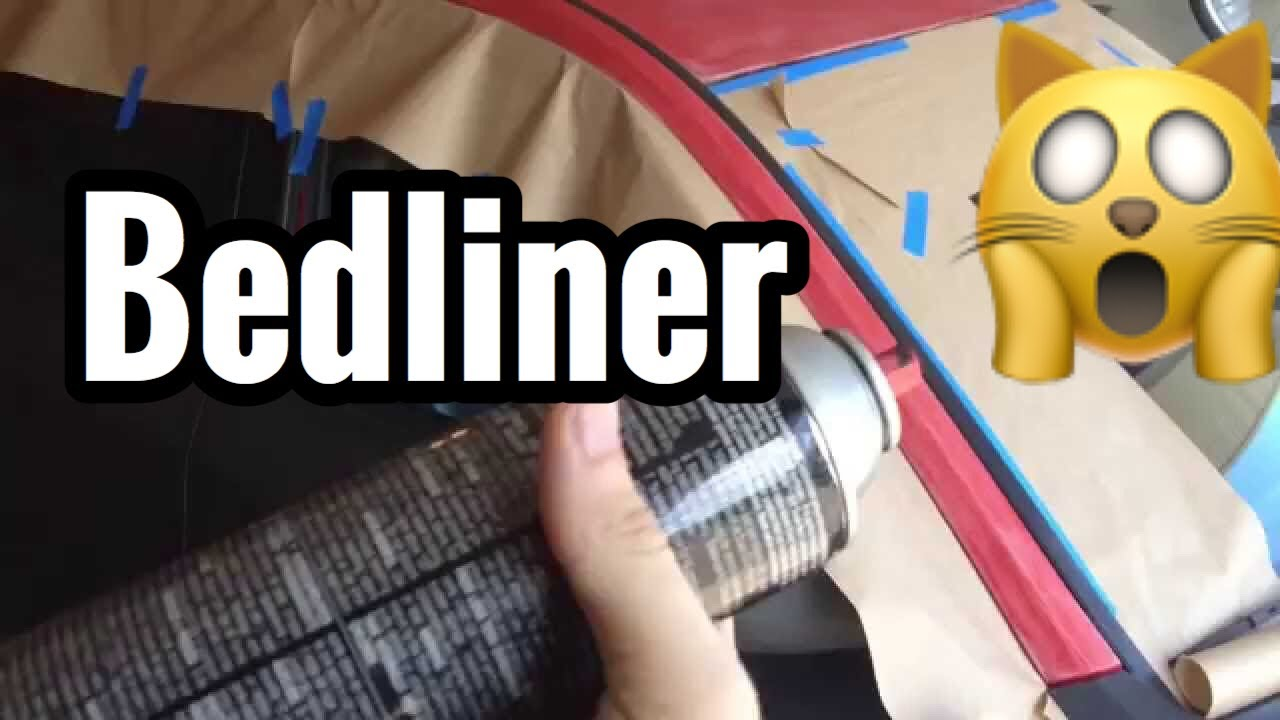 colored bed liner spray paint