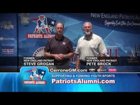 New England Patriots Alumni Club Commercial: Steve Grogan & Pete Brock