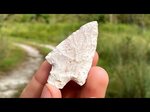 I Found A 5,000 Year Old Native American Arrowhead While Artifact Hunting And Digging In Florida