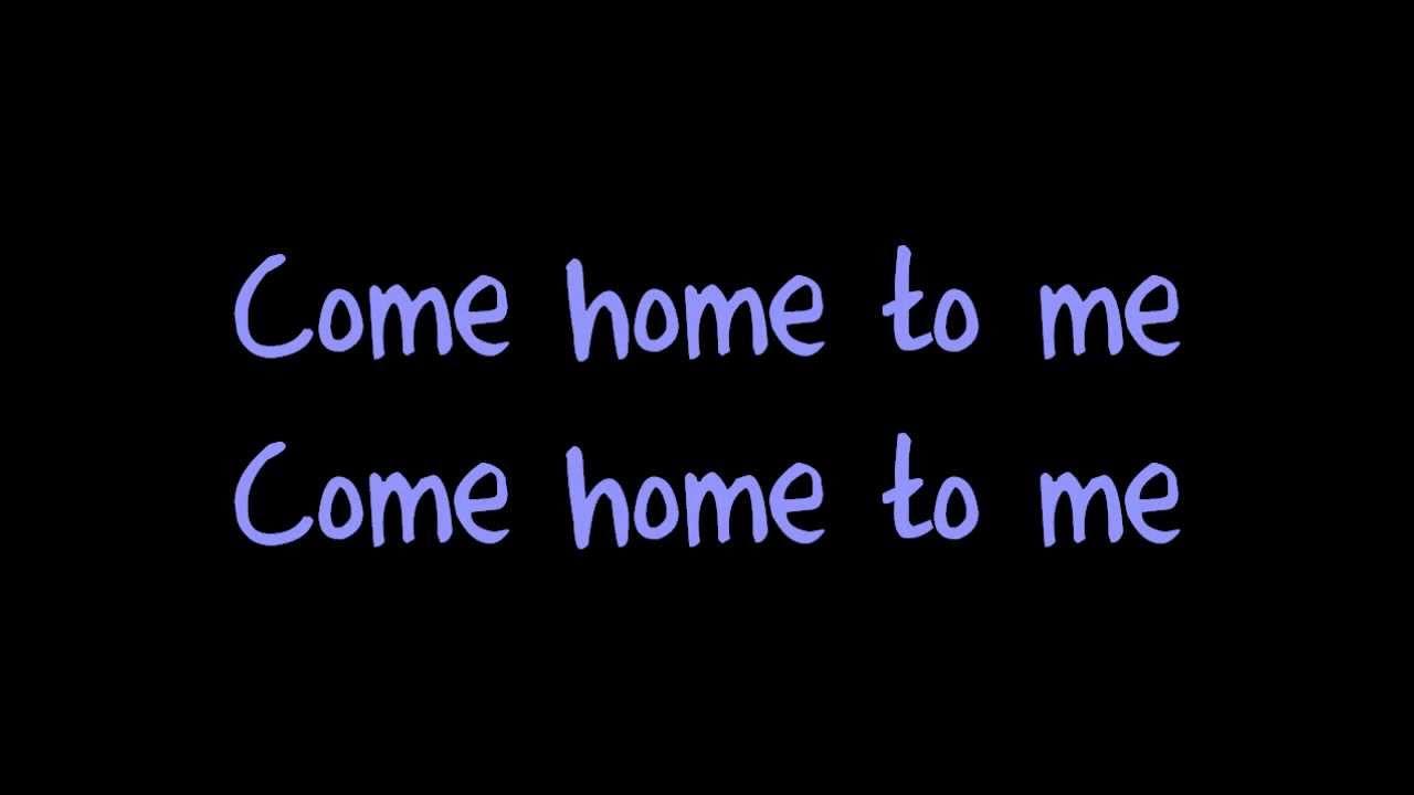 Come Home To Me - Justin Bieber + Lyrics ( A Ernie Halter Cover )