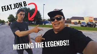 VLOG #2 MEET AND GREET WITH JON B, ANDREW FLAIR, AND ROBERT FROM LUNKERS TV