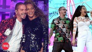 J Balvin cantó y bailó con Beyoncé y Cardi B en Coachella!