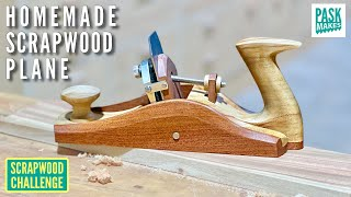 How to Make a Scrąper Plane and all the Hardware - Scrapwood Challenge ep50