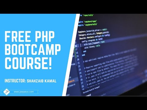 The Complete PHP Course With Bootstrap3 CMS System and an Admin Panel Free Preview Video