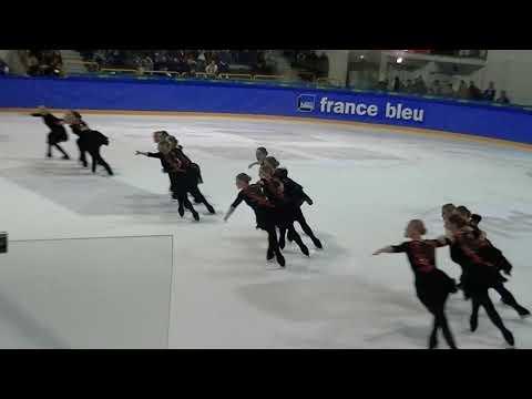 French Cup 2018 : Team Helsinki Rockettes ( FINLANDE) , programme libre sénior.