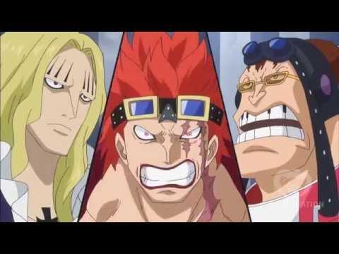 One Piece Eustass Kid , Hawkins , Apoo Forming Allianz New World