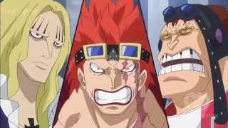 One Piece Eustass Kid , Hawkins , Apoo Forming Allianz New World