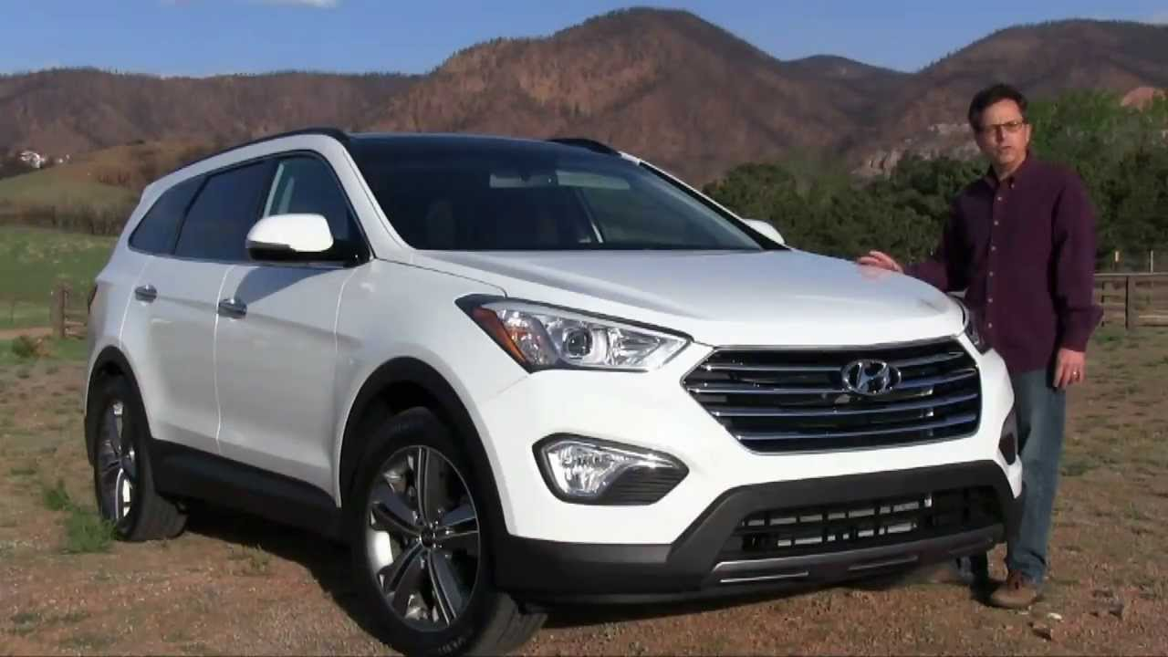 2014 hyundai santa fe review youtube. Black Bedroom Furniture Sets. Home Design Ideas