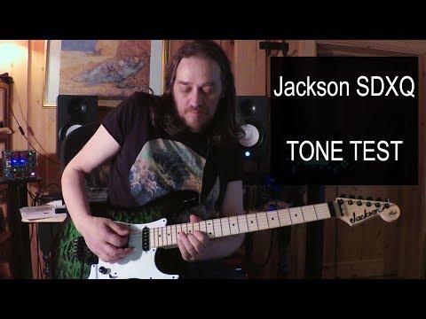 Jackson SDXQ Demo - The Sounds