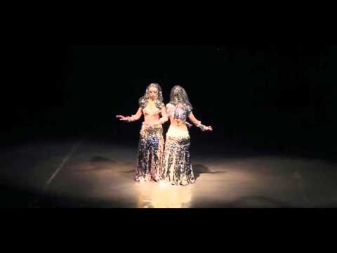 Tribal Project  'Glow Sisters' Tribal Fusion @ Midwinter Dream 2016