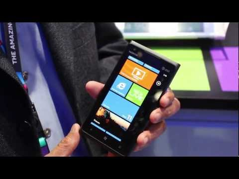 Nokia Lumia 900 Windows Phone on AT&T's 4G LTE at CES 2012