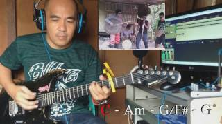 i won't go home without you guitar cover with chords