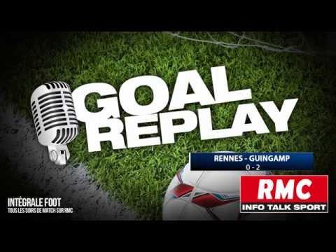 Rennes - Guingamp : le Goal Replay avec le son de RMC Sport