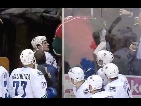 NHL Players vs Fans